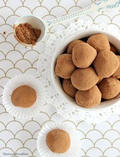 3 Ingredient Chocolate Truffles are the perfect sweet treat for the holiday season! Easy for a holiday party or cookie exchange!
