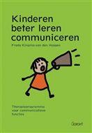 Kingsma-van den Hoogen, Freda. Kinderen beter leren communiceren: therapieprogramma voor communicatieve functies. Plaats VESA 376.5 KING