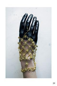 Black//Gold//Hand