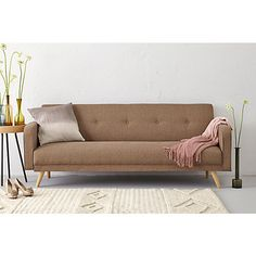 Another cool sofa couch. Not sure about the armrests, though: plenty of guests we have are tall and might not fit...