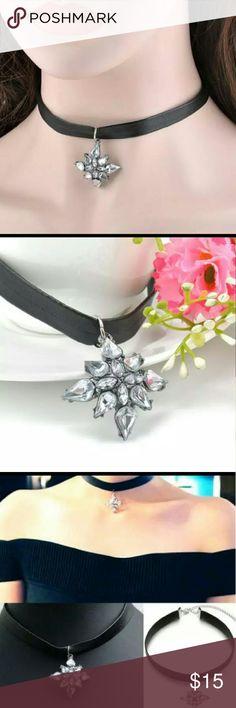 Selling this Adjustable Crystal Necklace New on Poshmark! My username is: zeyca. #shopmycloset #poshmark #fashion #shopping #style #forsale #zdazzled #Jewelry