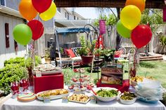 Real Party: Under the Big Top Colorful Circus Party | Baby Lifestyles