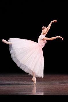 "Yekaterina Kondaurova (Marie Taglioni) with Mariinsky Ballet in ""Pas De Quatre"""