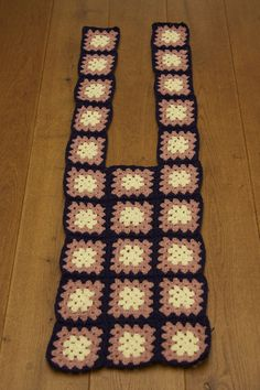 Tutorial granny square vest