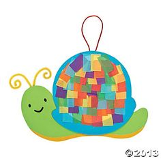 Colorful Snail Tissue Paper