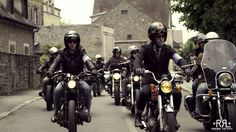 The Ralph Lauren RRL Riders tour of Paris teamed up with Blitz Motorcycles to complete a 99-kilometer ride featuring rare custom and vintage motorcycles. The ride celebrated the RRL brand tradition of authenticity, craftsmanship, and timeless style.