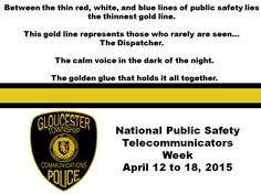 #GTPD recognizes National Public Safety Telecommunicators Week, April 12 to 18, 2015 http://gtpolice.com/?p=3824  #LESM