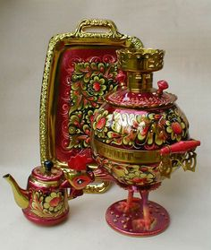 Style and Tradition Tea has always had a place in Russian culture, and Samovar is central to Russian tea. Now you can enjoy the Russian tea brewing process with beautiful samovar. These samovar come in many styles. Shop Samovars