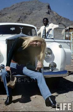 Brigitte Bardot on the set of Shalako, 1967 | Retronaut