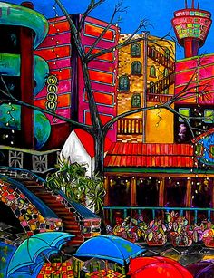 San Antonio, Texas ~ Downtown On The River ~ Patti Schermerhorn