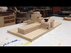 Homemade pocket hole jig - YouTube