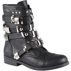ALDO Audaise boots ($100) found on Polyvore