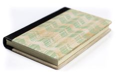 Jaded Chevron Wood Covered Journal – Village Artisan Textile Industry In India, List Of Brands, Handmade Journals, Thoughtful Gifts, Holiday Gifts, Gift Guide, Chevron, Recycling, Artisan
