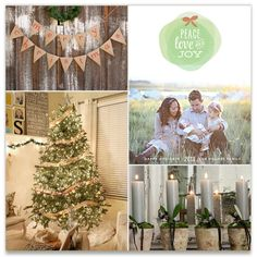 Burlap Wreath Inspiration Board, curated by Pretty in Paper  at Minted