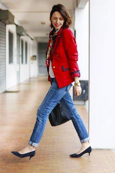 Moda estilo streetstyle lifestyle fashion fashionblogger tendencias trendy  shopping compras Chaquetas Rojas 0469796cfab