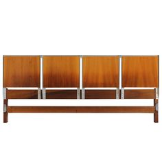 King-Size Headboard by Edmund Spence = MOVING SALE!!!!!! For Sale