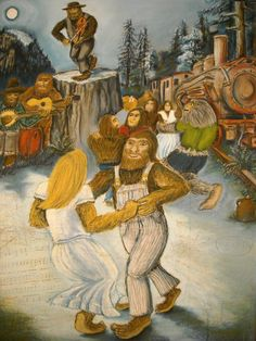 At The Bigfoot Ball, by Michael Lindenmeyer