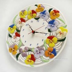 Fused glass handmade clocks, bowls, decoration, caskets and candle holders in fusing technique | Fusing