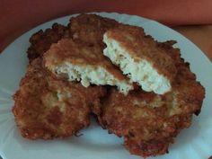 Karfiolos sajtpuffancs GM Meatloaf, Quiche, Cauliflower, Muffin, Pork, Health Fitness, Healthy Recipes, Healthy Food, Chicken