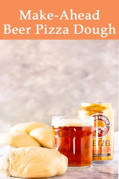 If you're looking for the best homemade pizza dough you found it. This make ahead beer pizza dough is thin and crispy with the perfect chew and the beer adds a level of depth to the flavor. Tailgating Recipes, Beer Recipes, Baking Recipes, Ramen Recipes, Noodle Recipes, Steak Recipes, Turkey Recipes, Cooking With Beer, Easy Cooking