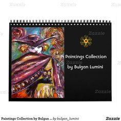 Paintings Collection by Bulgan Lumini -  2016 Calendar