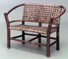 Rustic Old Hickory misc. furniture child's furniture hickory
