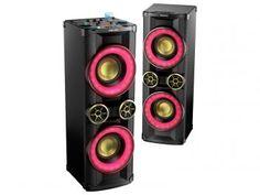 Mini System Philips 1 CD 3200W RMS - MP3 Karaokê DJ Mix NX Bass - NTX800X