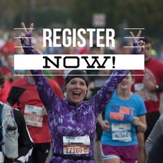 LAST CALL! There are less than 100 spots left in the 1/2 Marathon. Register NOW!
