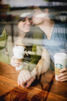 Coffee love - Killian visiting Ella at the coffee shop, perhaps?