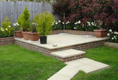 Image Result For Raised Patio Ideas Uk