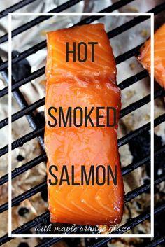 Maple Orange Hot Smoked Salmon - Powered by @ultimaterecipe