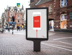 Print campaign (OOH) for the blood bank app.