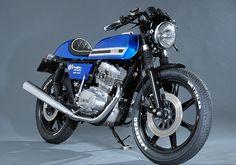 Yamaha XS500 Cafe Racer - Beautiful Motorcycle.
