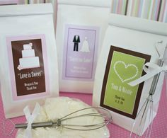 """Love is Sweet"" Sugar Cookie Mix at WeddingFavors.org"