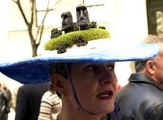 easter island easter hat