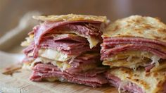 Satisfy your quesadilla cravings with leftover corned beef and cabbage