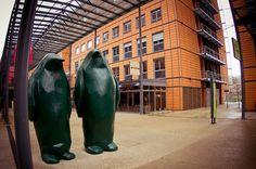 Pingouins de la Cité Internationale Lyon