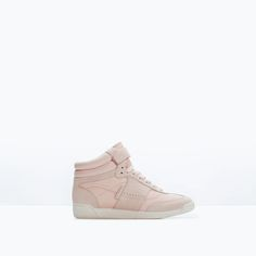 Image 1 of FASHION HIGH-TOP SNEAKER from Zara