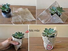 This is a small gift that we gave to the boy teacher. This is a very … # 那 是 小 礼物 给 的 的 的 This is a very # gørdetselv – Mürvet – Diy - Modern Succulent Wedding Favors, Wedding Favours, Diy Wedding, Wedding Gifts, Trendy Wedding, Wedding Table, Diy Souvenirs, Bridal Shower, Baby Shower