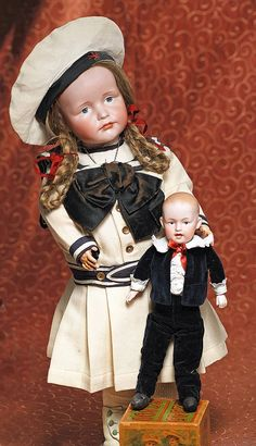 Lot:GERMAN BISQUE ART CHARACTER DOLL, GRETCHEN 114, BY, Lot Number:182, Starting Bid:$1200, Auctioneer:Frasher's Doll Auction, Auction:GERMAN BISQUE ART CHARACTER DOLL, GRETCHEN 114, BY, Date:05:00 AM PT - Mar 1st, 2015