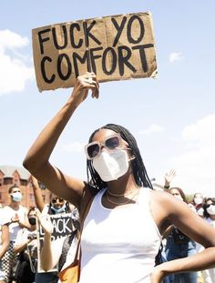 Protest Art, Protest Signs, Black Trans, Power To The People, Equal Rights, Queen, Black People, Black Is Beautiful, Change The World