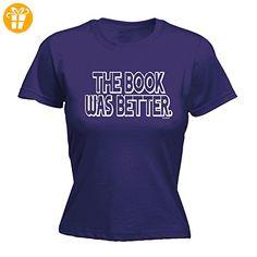 Fonfella Slogans Damen T-Shirt, Slogan Violett Violett Medium - Shirts mit spruch (*Partner-Link)