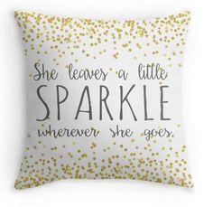 Girl Nursery Pillow