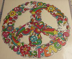 Flower Peace Symbol