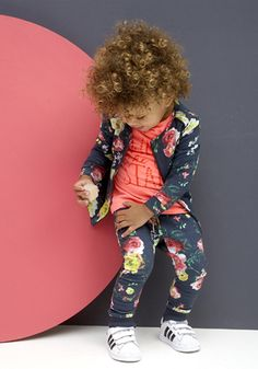 Tumble and dry baby girl