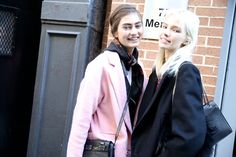 Street Looks at New York Fashion Week: Day 1, Jourdan Dunn, Malaika Firth, Susie Bubble, FW2014