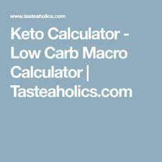Keto Calculator - Tenere traccia di Keto dieta e macro Macro Calculator, Keto Calculator, Diet Plan Menu, Keto Meal Plan, Low Carb Macros, Keto Regime, Cyclical Ketogenic Diet, Keto Results, Keto Shopping List