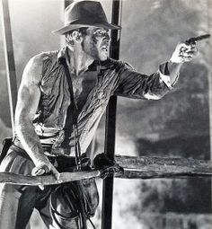 """Harrison Ford as 'Indiana Jones' from """"Indiana Jones and the Temple Of Doom"""", (1983)."""