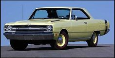 1969 Dodge Dart GTS - right color, wrong year, close enough