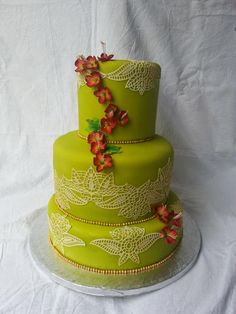 Mehndi Cake